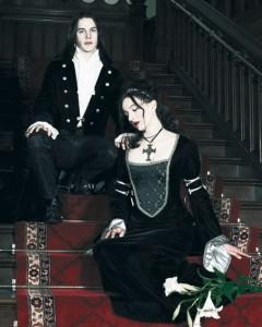 classic goth couple